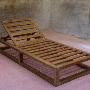 Αναϊς ξύλινη ξαπλώστρα